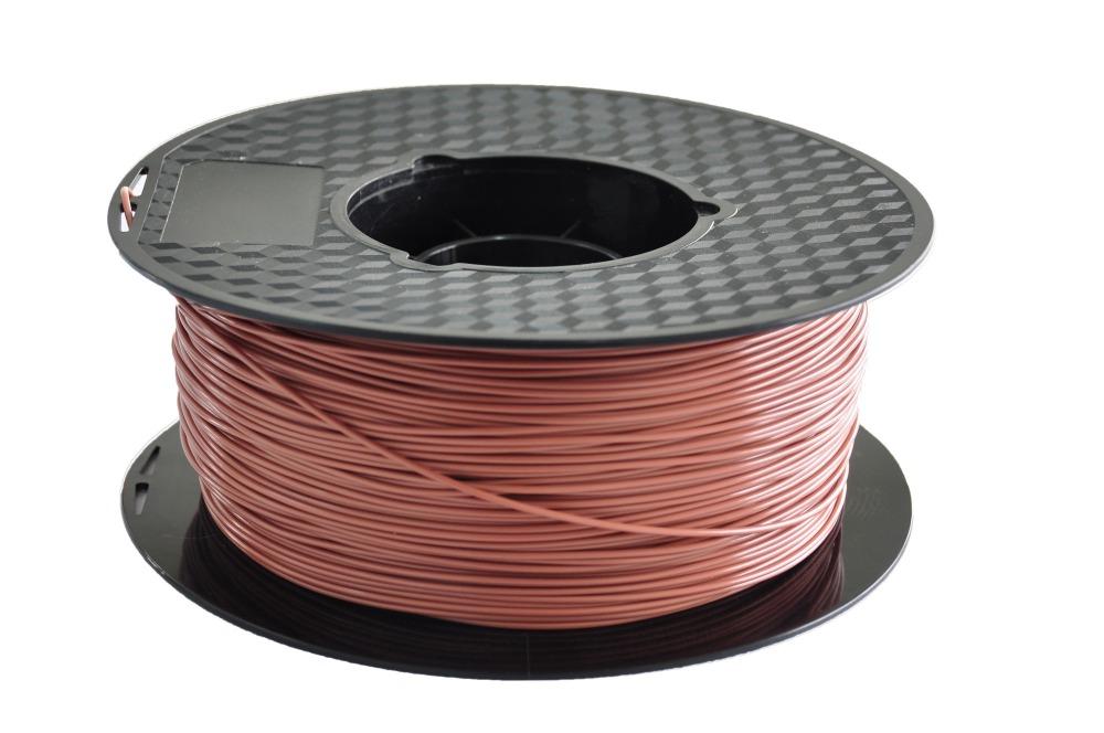 1kg 2 2lb 1 75mm ABS Brown Plastic 3D Printer Filament for MakerBot RepRap Mendel