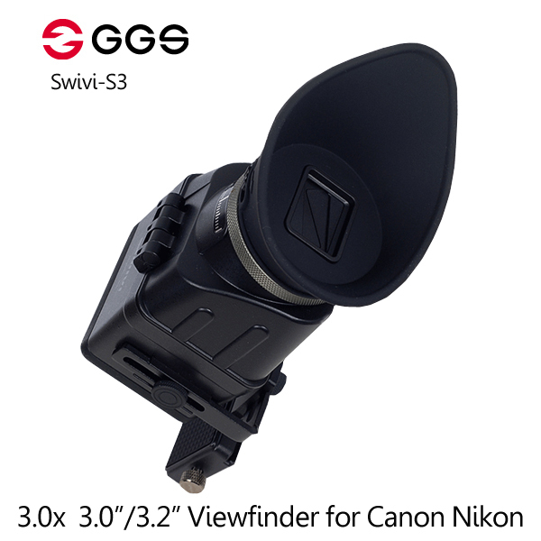 GGS Swivi S3 3X Foldable Optical Viewfinder 3.0/3.2 Aspect LCD for Canon 5D2 5D3 for Nikon D7000 D7200 D750 D610 D810 D800<br><br>Aliexpress