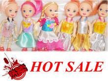Menor fábrica venta al por mayor precio nueva lindo poco Kelly muñecas niños encantadores juguetes niñas regalos de cumpleaños muñeca juega el envío gratis