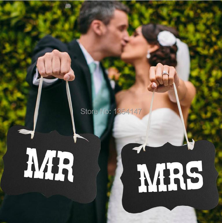 "1set ""Mr&Mrs"" Letter Garland Banner wedding party decoration Free shipping Photo Booth Wedding party PhotographyProps Decoration(China (Mainland))"