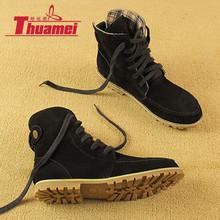 Nueva llegada caliente negro mujeres botas de nieve de las mujeres de moda otoño botas de moto de invierno zapatos de mujer martin botines # Y1149544Q(China (Mainland))