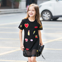 Girls Dresses Original Design Cute Cotton 2016 Spring And Summer Children's Clothes Lovely Dresses Girls Princess Holiday