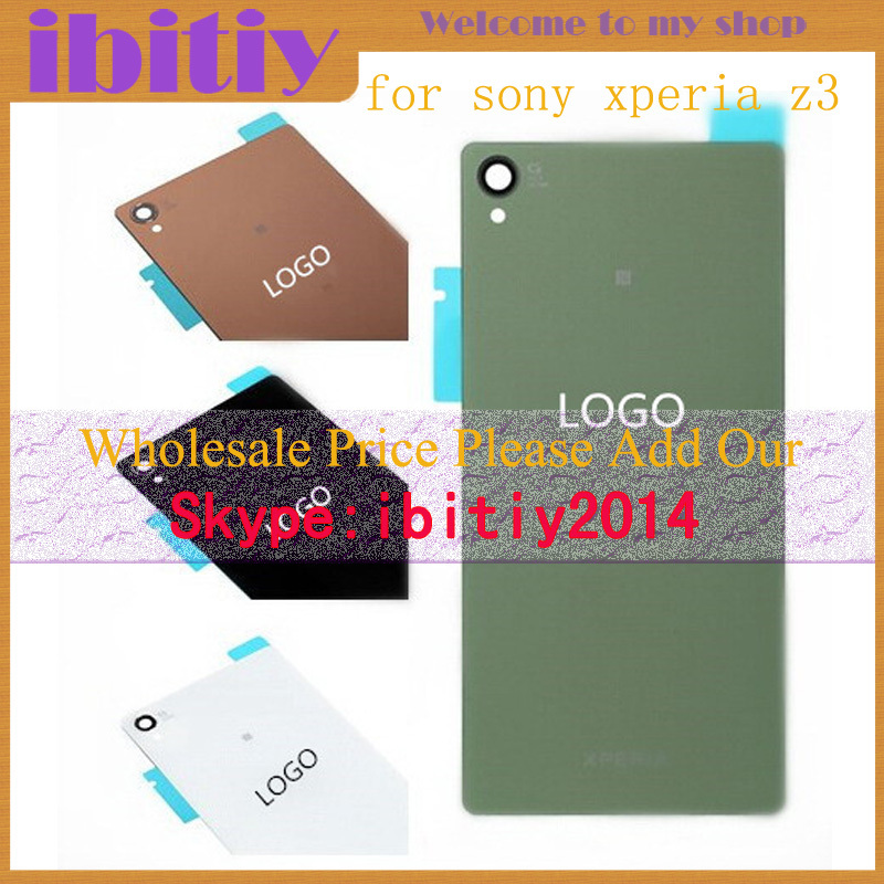for Sony Xperia Z1 Mini Z1 Z2 Z3 Z3mini L36 L39H Back Housing Battery Compact Back Glass Cover free shipping