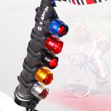LED Waterproof Bike Bicycle Cycling Front Rear Tail Helmet Red Flash Lights Safety Warning Lamp Safety Caution Light Accessories(China (Mainland))