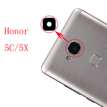 Buy 2pcs/lot Original New Back Rear Camera lens glass replacement Huawei Honor 5C 5X honor5c honor5x Sticker top for $6.26 in AliExpress store