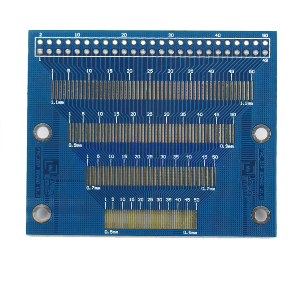 C18 0.5mm To 1.2mm Pin Pitch Adapter PCB FPC Board 2.0-3.5inch TFT LCD SMD To DIP(China (Mainland))
