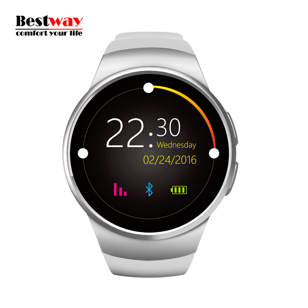 KW18 Android Smart Watch WatchesHeart Rate Monitor Digital-watch Wearable Devices Mobile Watch Phone Relogio Inteligente SIM&TF(China (Mainland))