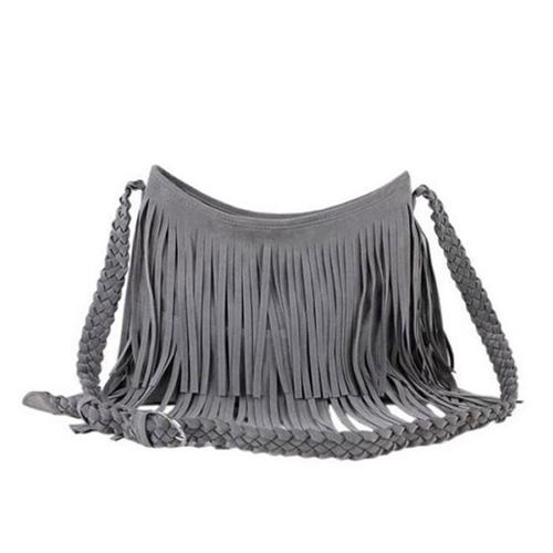 New 2014 Women's Hot sale Suede Fringe Handbags women's fashion Tassel Shoulder Bag messenger bags Handbags Z5(China (Mainland))