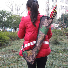 New Upscale Outdoor Camouflage Messenger Archery Equipment Maker Simple Bow And Arrow Pot Quiver