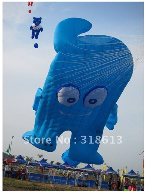 8*6m mascot kite,Cartoon Kite,Nylon Kite FREE SHIPPING
