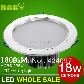 """18W 8"""" inch LED Downlight Recessed Ceiling Down Light Lamp Warm