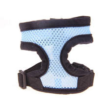Adjustable Soft Breathable Dog Harness Nylon Mesh Vest Harness for Dogs Puppy Cat Collar Pets Chest Strap Leash Set 13 Colors(China (Mainland))