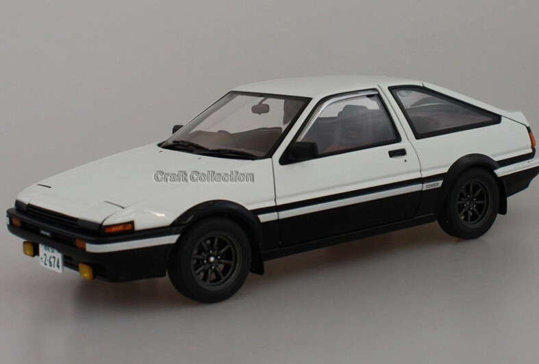 *1:18 Classical Car Model Initial D AE86 Diecast Model Car Luxury Gifts Rare Miniature(China (Mainland))