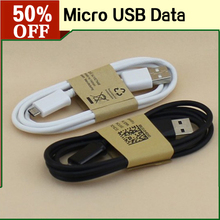 1M  Flat V8 Micro USB Data Line Mobile Phone Accessory 1.6A Charger Charging Cable for Htc Nokia LG Motorola etc