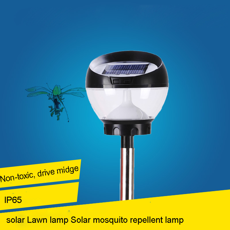 solar lights led Mosquito repellent lamp solar lawn lamp outdoor lamp garden lights table lamp<br><br>Aliexpress