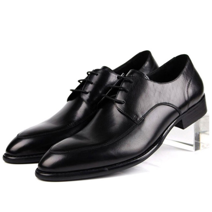 2014 New Fashion Real Genuine Leather Formal Brand Man Italian Oxford Sneakers Mens Business Dress Wedding Rubber Shoes GL118<br><br>Aliexpress