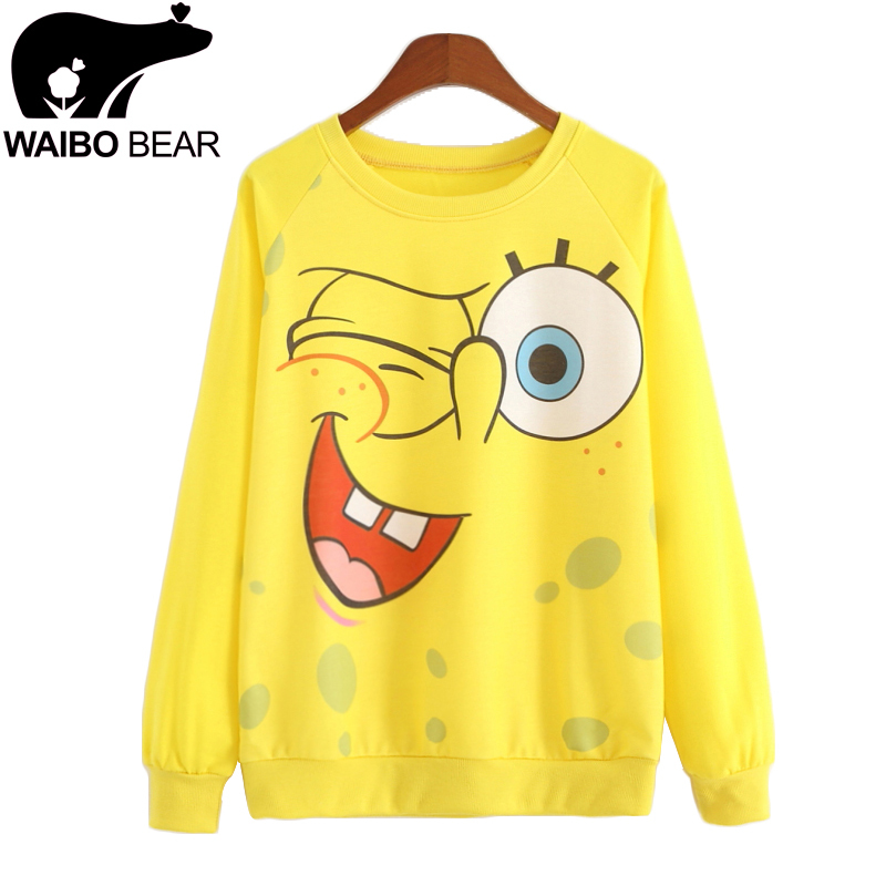Hot! New 2015 Casual Hoodies Sweatshirts women Autumn and spring hoody women Long sleeve Hoody Bright yellow color tracksuit(China (Mainland))