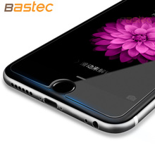 [2-Pack] Bastec HD Clear Protective Film 0.26mm 2.5D Curved edge Tempered Glass Screen Protector for iPhone 7 6 6s Plus 5 5s SE(China (Mainland))