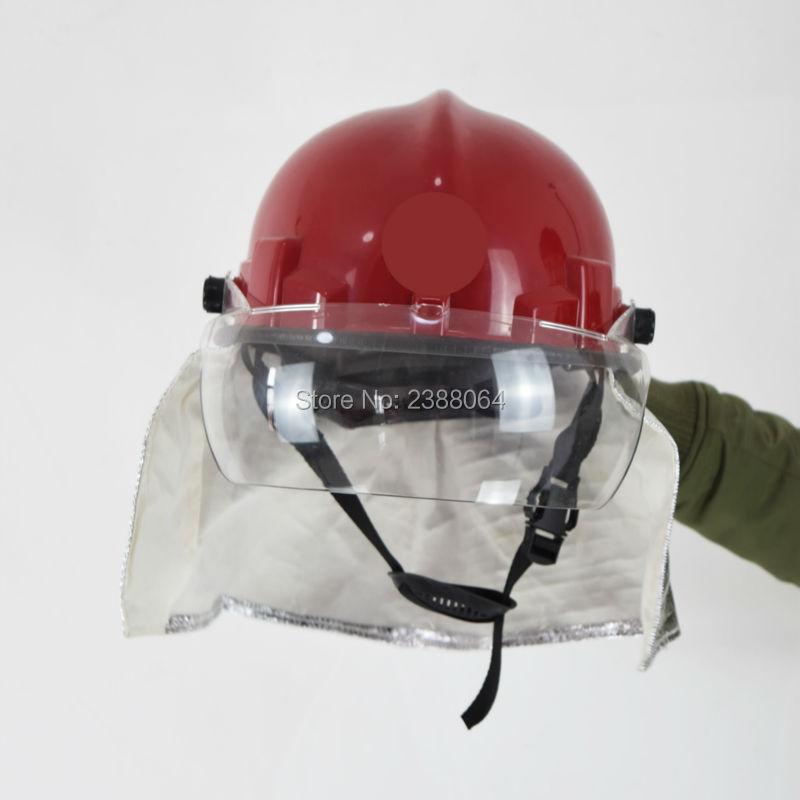 Free Shipping Can Resistant 300 Degree PEI Anti Fire Fire Fighting Police safety helmet(China (Mainland))