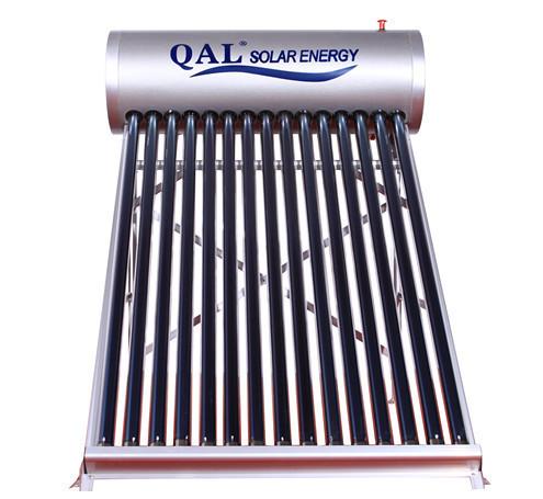Domestic Solar water heater solar collector 15 Evacuated Tubes,Non-preesure solar energy,hot(China (Mainland))