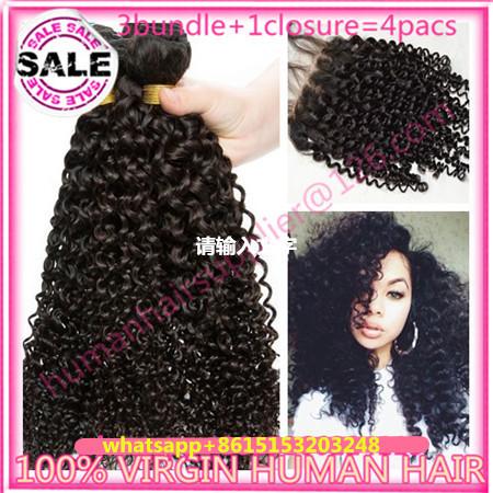 Здесь можно купить  6a malaysian virginy hair kinky curly weave bundles malaysian kinky curly hair with closure ali moda hair bundle 100% humen hair  Волосы и аксессуары