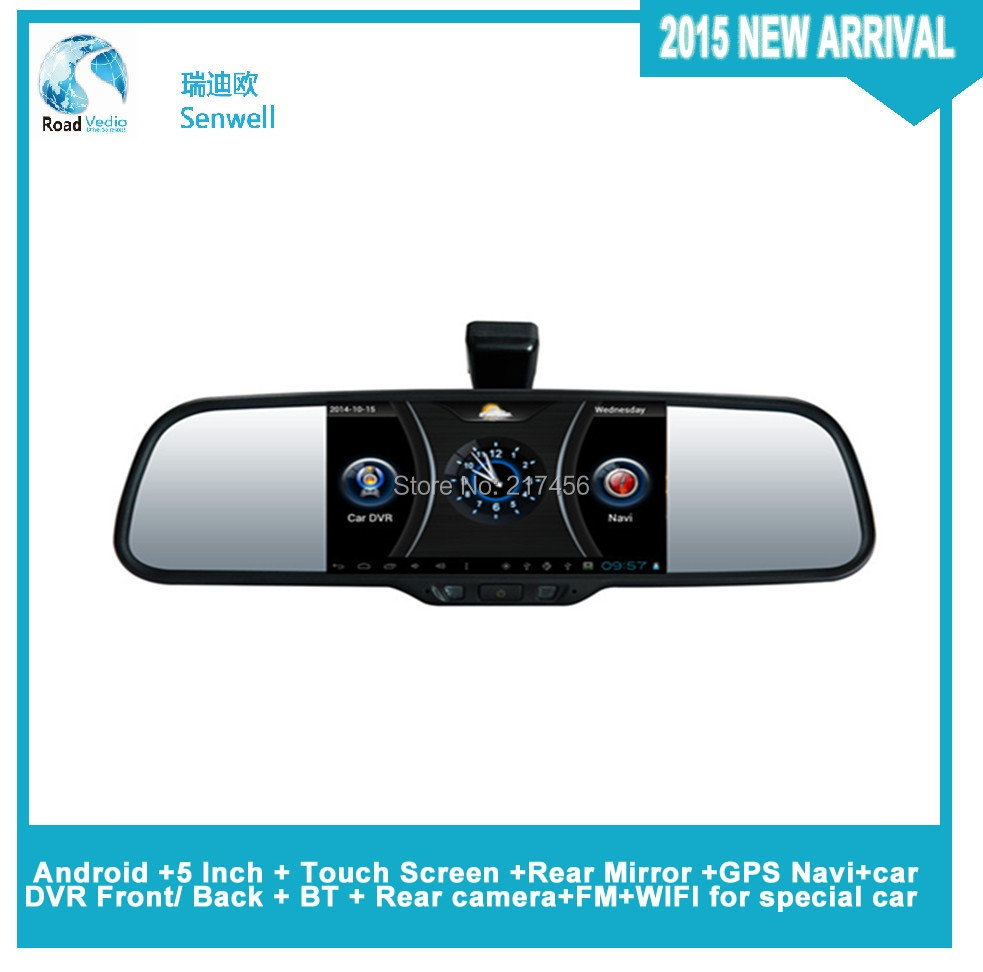 Android +Rear Mirror +GPS Navi+car DVR Front/ Back for PEUGEOT ALL 301 MODELS(China (Mainland))