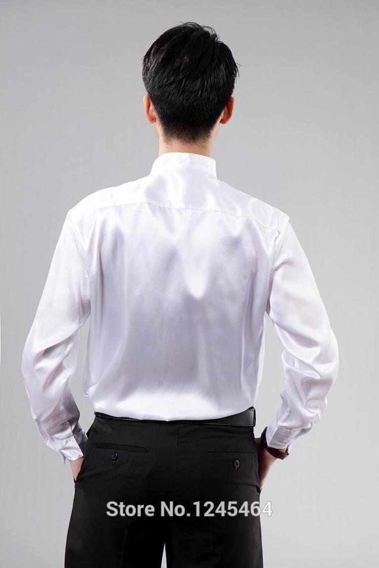Mens Dress Shirt Tie Groom