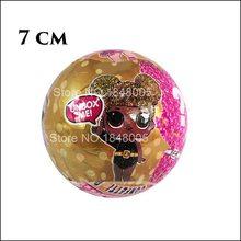 LOLS surpresa Confetti Ovo Série Pop Vestido Da Boneca Bonecas de Mudança de Cor Bola Mágica Action Figure Crianças Brinquedos Para As Crianças de Natal(China)