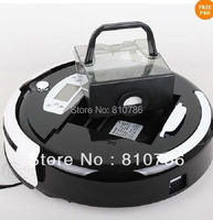 (Free to Russian) Biggest  Dust Bin 0.7L Wet and Dry Robot Vacuum Cleaner+ Auto Recharged +Virtual Wall+Moping+UV lights