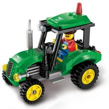 4 Type Civilized City Sweeper Legoings Assembled Model Building Blocks Toys Kit DIY Educational Children Birthday Gifts 102pcs(China)