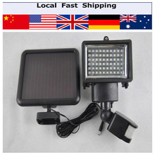 Home 60 LED Solar Light Solar Lamp Light Spotlight Wall Lamps Motion Lamp Floodlight(China (Mainland))