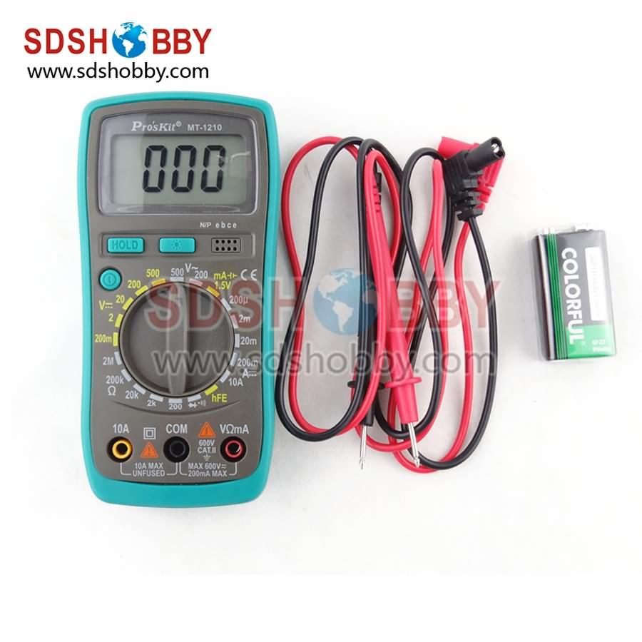 ProsKit MT-1210 Multifunctional Digital Meter 3 1/2 Compact Digital  Multimeter<br><br>Aliexpress