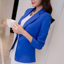 Buy 2017 Women's suit Office Blazers women's jacket suit women's blazer women blazers jackets long-sleeve slim blazer feminino for $19.38 in AliExpress store
