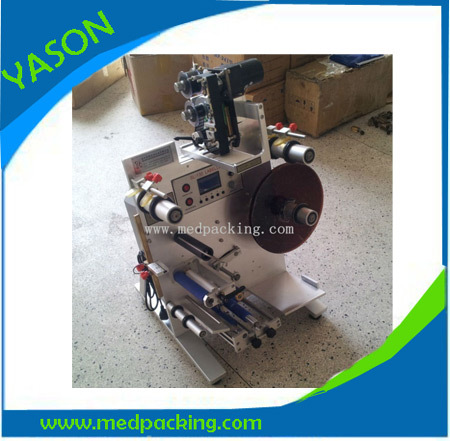 freeshiping Semi-Automatic Label Machine labeling 2 labels GRINDING - Packing Machinery store