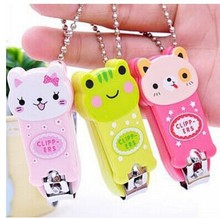 R232 creative cute cartoon nail clippers nail clippers Color random(China (Mainland))