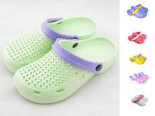 2015 nouveaux modèles d'été trou chaussures sabots pour les femmes chaussures de jardin EVA sandales de plage et pantoufles femmes livraison gratuite(China (Mainland))