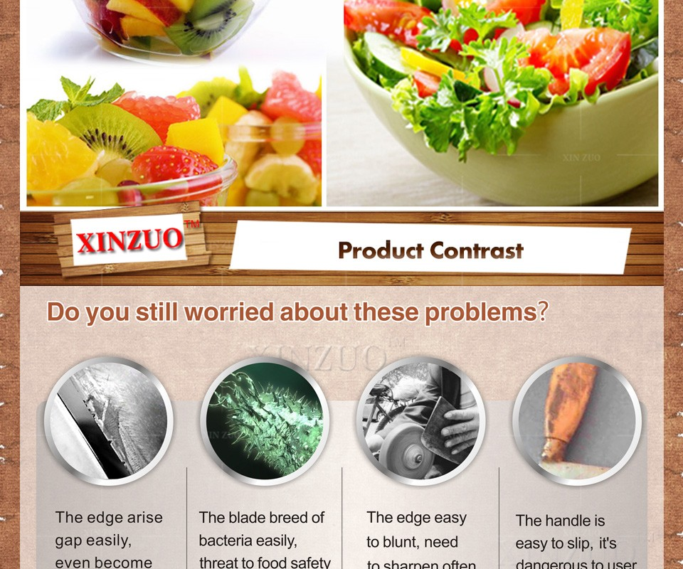 """Buy 2016 XINZUO 73 layers 3.5"""" paring knife Japanese Damascus steel kitchen knife fruit knife with Color wood handle free shipping cheap"""