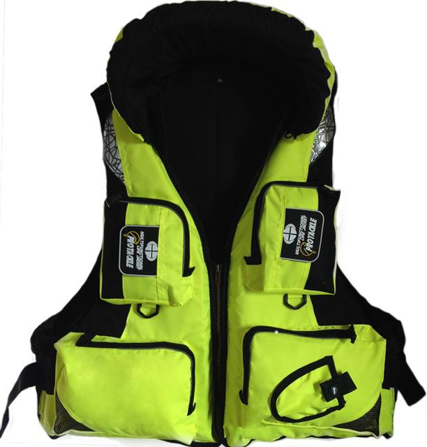 Free Shipping 2016 Sea Fishing Life Vest Water Safety Survival Life Jacket Boating Drifting Surfing Water Sport Swimwear(China (Mainland))