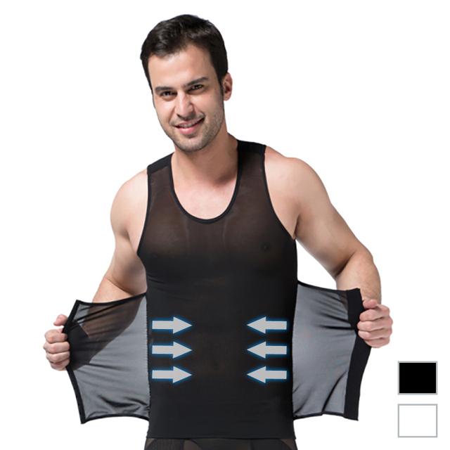 Высокое качество мужчины тела живот талия триммер для похудения жилет топ 3-lows ...