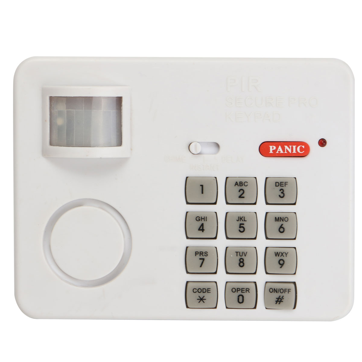 New Arrival Alarm Pir Security Keypad Wireless Motion Sensor(China (Mainland))