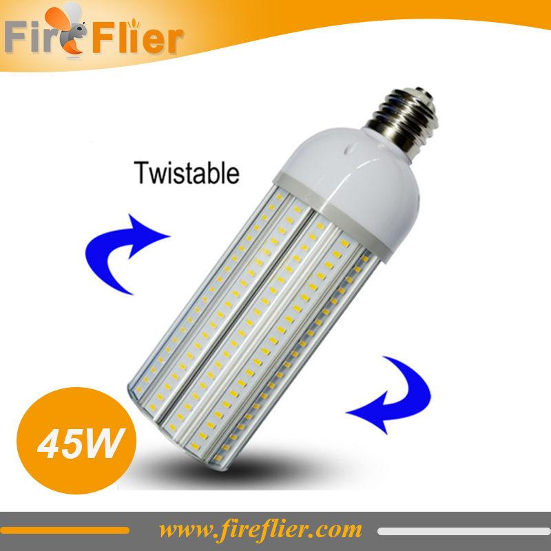 E40 led lamp 300w equivalent 100-277V 40W E40 led street lamp 180 degree 4400Lm E27 E40 LED street light(China (Mainland))