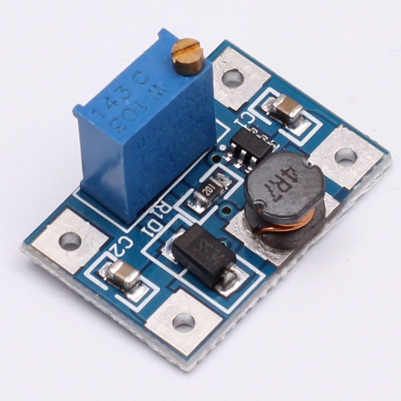 DC-DC SX1308 Step-UP Adjustable Power Module Step Up Boost Converter 2-24V to 2-28V 2A(China (Mainland))