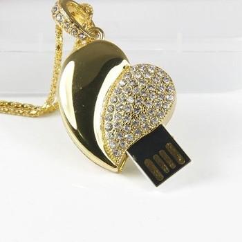 Valentines Gift  loving heart USB Flash Drive 1GB 2GB 4GB 8GB 16GB 32GB 64GB