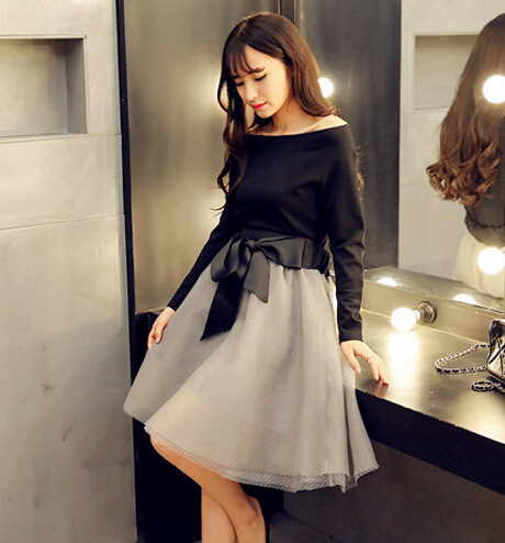 2016 Summer Style Women Clothing Sets Tops And Skirts Sets Organza Ball Gown Skirts Sets Female 2 Pieces Set Twinset Smk729Одежда и ак�е��уары<br><br><br>Aliexpress