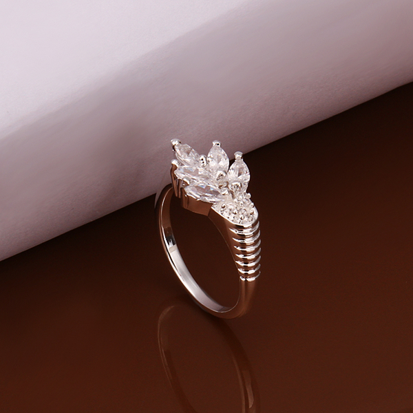 pave diamond solitaire bohemian enement ring made in los angeles - Bohemian Wedding Rings