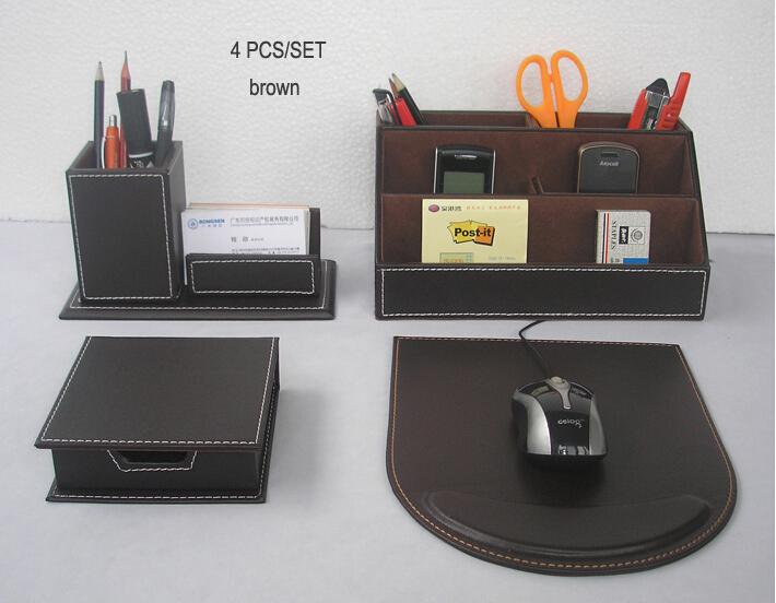 Comprar 4 unids set escritorio de oficina for Accessoire bureau luxe