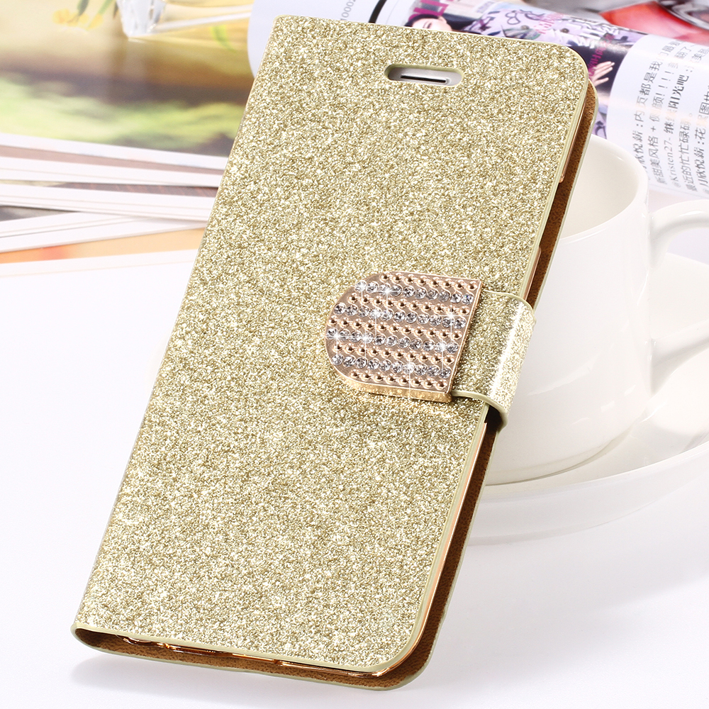 2015 Fashion Luxury Bling Glitter Wallet Flip Leather Case Cover For iPhone 6 4.7 inch Back cover for iPhone 6 Free Shipping(China (Mainland))