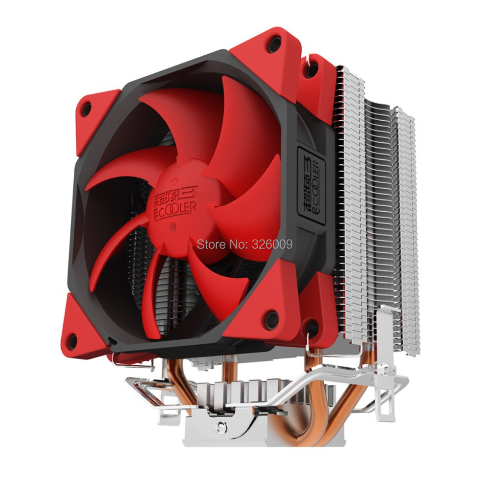 90mm Silica fan, 2 heatpipe, tower side, for Intel LGA775 1150 115x, 939/AM2+/AM3/FM1/FM2, CPU cooler, CPU Fan, PcCooler S98<br><br>Aliexpress