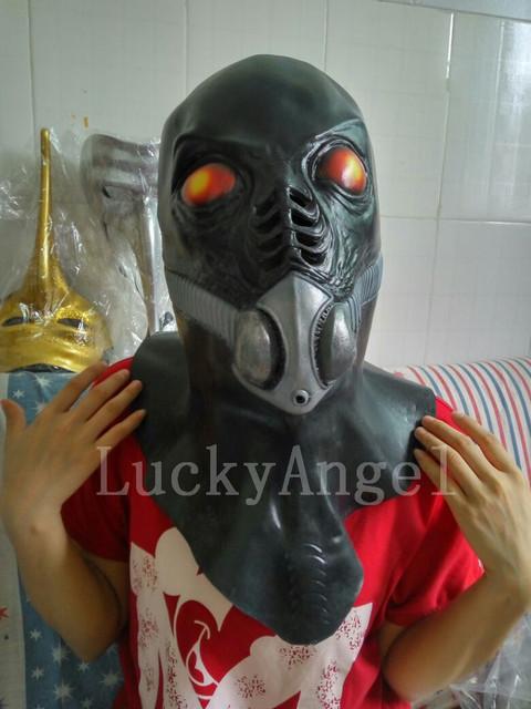 Terrorist Predator Mask Halloween Cospaly Party Plastics Alien vs Predator Warrior Masked Costume Mask Full Face Anonymous Masks