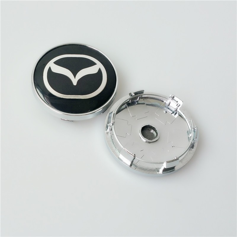 Hot Sell 20pcs/lot 60mm Mazda Car Emblem Wheel Center Hub Cap Badge Logo Covers For MAZDASPEED MAZDA M3 M6 ATENZA CX5(China (Mainland))